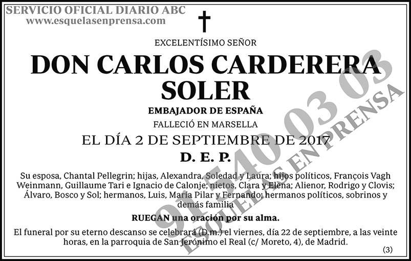 Carlos Carderera Soler